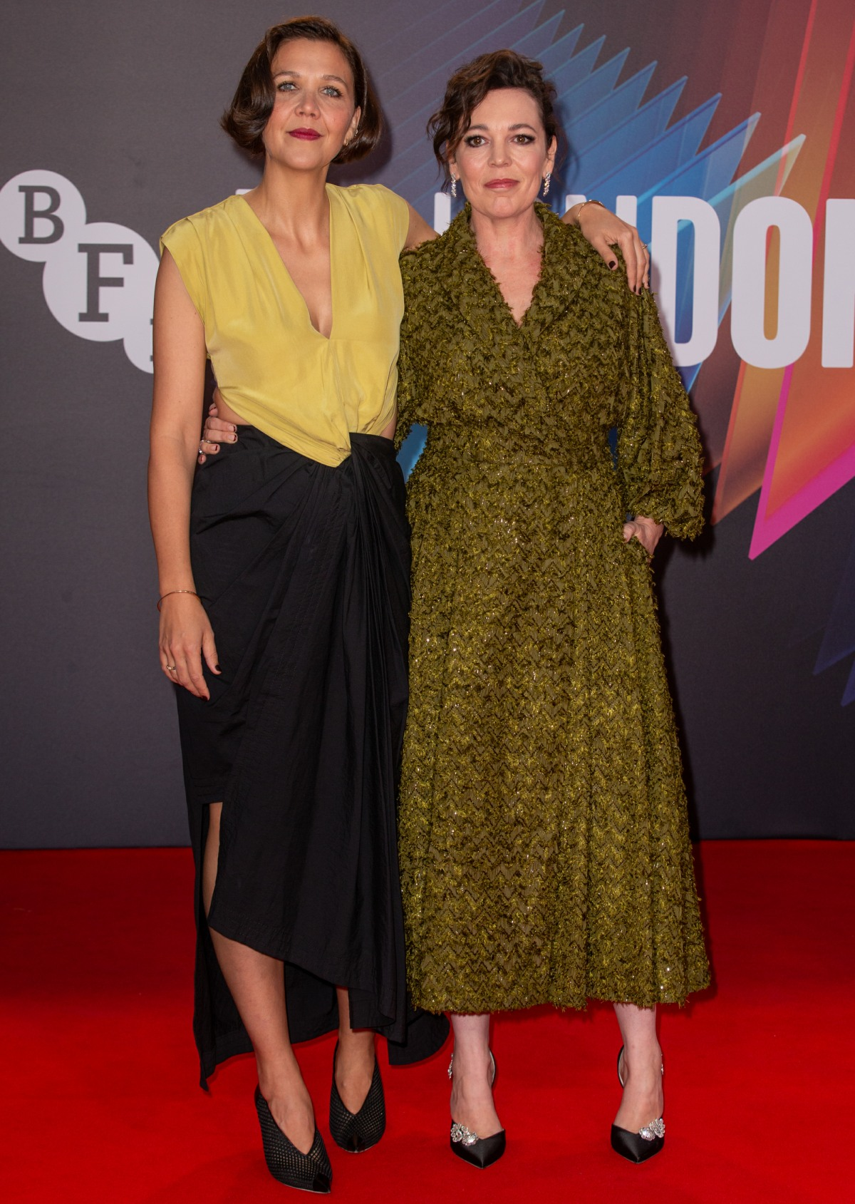 The BFI 65th London Film Festival UK Premiere of 'The Lost Daughter' held at the Royal Festival Hall